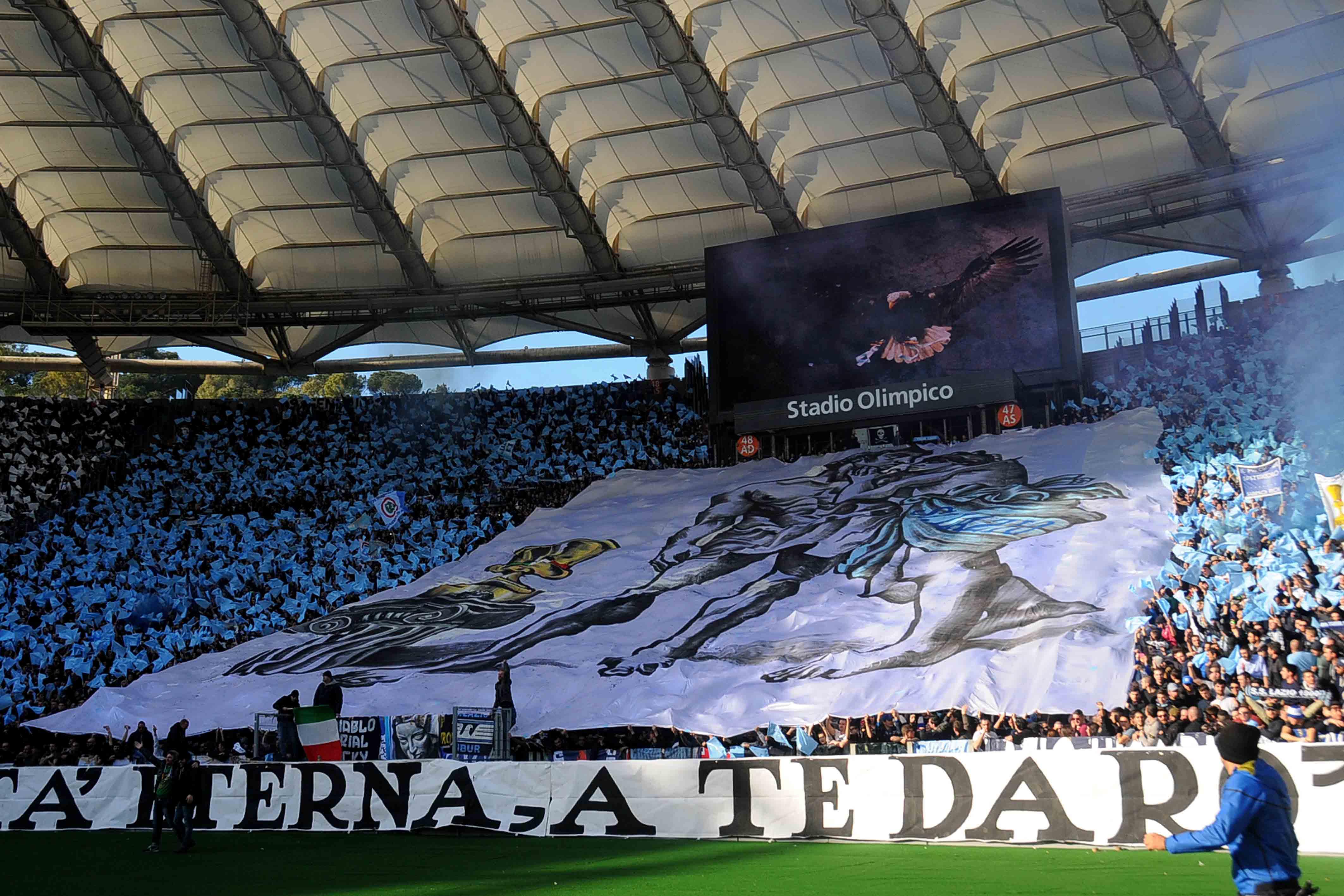 Comunicato Curva Nord Lazio I Tifosi Biancocelesti Torneranno Allo