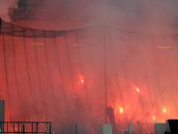 Napoli-Roma e lo spettacolo (?) del calcio blindato