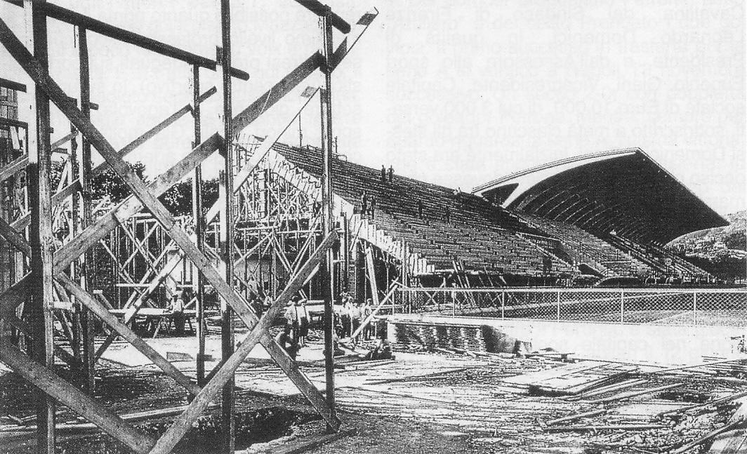 Stadio history l artemio franchi l impianto che ispir for Planimetrie delle scale curve