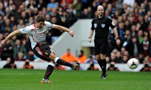 Steven Gerrard West Ham United v Liverpool - Premier League