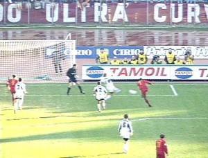 Gol Paulo Sergio Roma-Atalanta