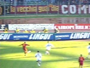 Gol Totti Roma-Atalanta