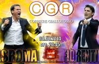 ROMA-FIORENTINA 2-0 (27′ Nainggolan, 93′ Gervinho) Primi tre punti per la Roma