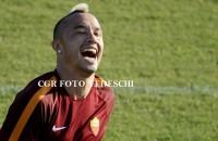 """Nainggolan: """"Possiamo solo migliorare. Un piacere giocare con Totti"""""""