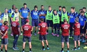 Soccer: Italy's training session in Coverciano (Florence)