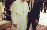 Iturbe e il Papa su Twitter