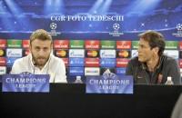 """Roma-Bayern Garcia: """"Nessuna paura""""  De Rossi: """"Vogliamo passare il turno"""""""