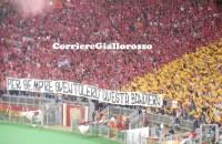 """Roma-Bayern, migliore in campo la Sud: """"Vinceremo il tricolor"""" a fine gara"""