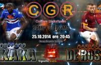 LIVE Sampdoria-Roma 0-0 palo clamoroso di Gervinho