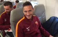 """Twitter A.S.Roma: """"In partenza per Genova"""""""