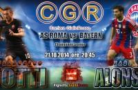 Roma-Bayern 1-7 (Robben 8′ 29′, Goetze 23′, Lewandowski 25′, Muller 35′, 65′ Gervinho, Ribery 77′, Shaqiri 79′)