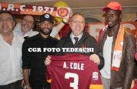 Cole e Mapou alla serata AIRC per il decennale del Roma Club Lucio Sestio (FOTO)