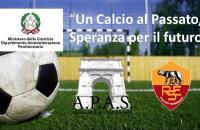 """""""Un calcio al passato, speranza per il futuro"""", ecco il nuovo campo di calcio8 a Rebibbia"""
