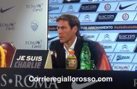 """Conferenza Derby Garcia: """"Vogliamo essere primi domani. Destro resta"""""""