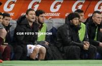 Roma, Garcia non cambia: anche col Genoa Totti in panchina
