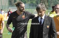 """A. De Rossi: """"Balzaretti ha grande determinazione per rientrare nel calcio giocato"""""""