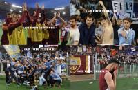 La delusione della Roma, la gioia della Lazio nelle foto di Roberto Tedeschi