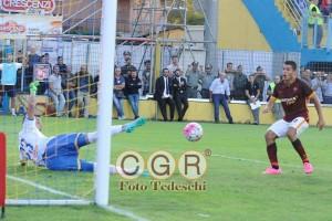 Falque 2   gol frosinone roma 0 2