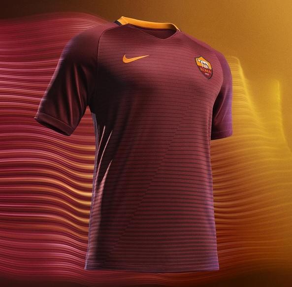 140457644e As Roma, Ufficiale: ecco la nuova maglia Home 2016-2017 (FOTO ...