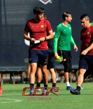 Fonseca Trigoria allenamenti 2
