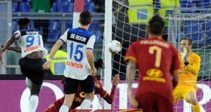 Zapata gol Roma Atalanta