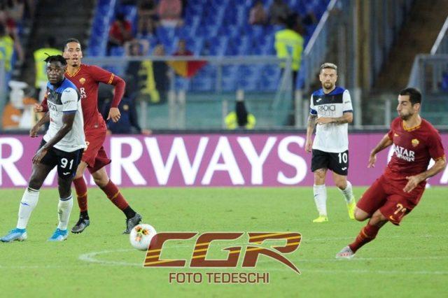 Mkhitaryan Zapata Smalling Gomez Roma Atalanta