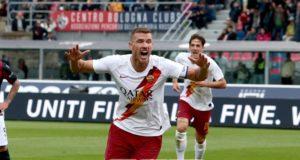 Dzeko 1 Esultanza Bologna Roma