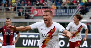 Dzeko 1 Bologna Roma