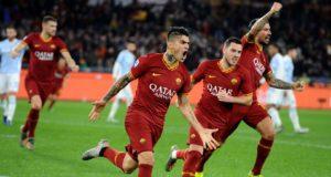 Perotti Veretout gol Roma Spal