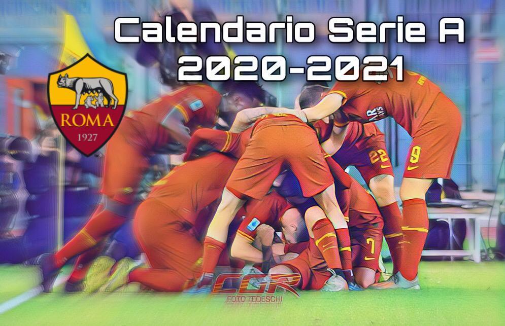 Calendario Serie A 20 21, esordio per la Roma a Verona, poi la